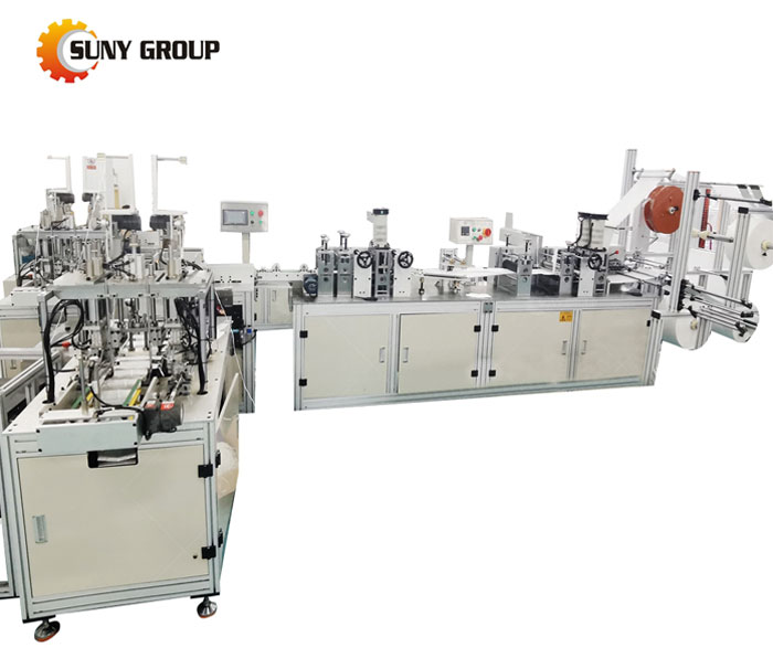 Kf94 Fish Shape Mask Making Machine
