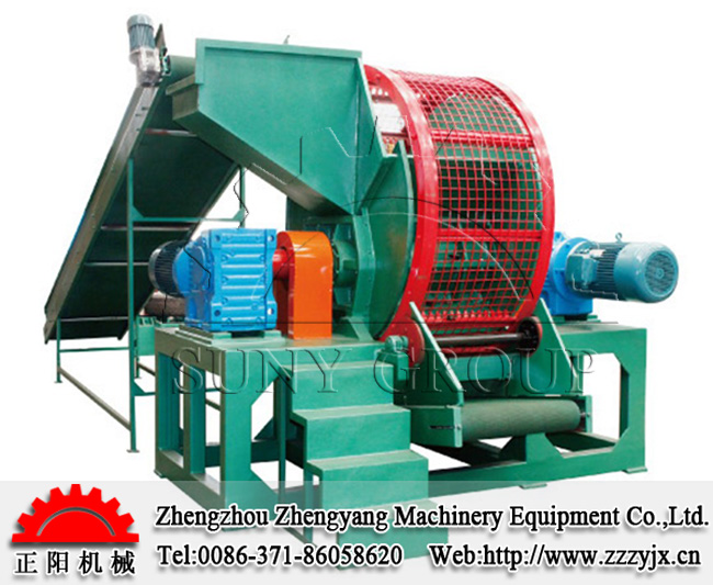 whole tyre crusher