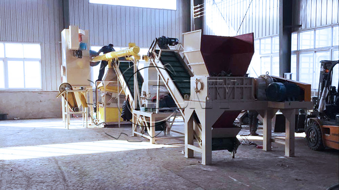 Waste Radiator Recycling Equipment