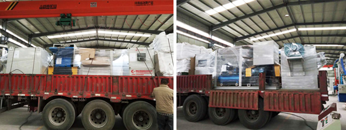 Cable Wire Recycling Machine Packaging & Shipping