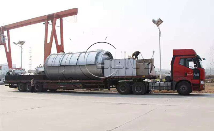 Tyre pyrolysis plant Packaging & Shipping