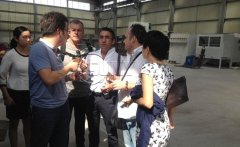 Italy customers visit