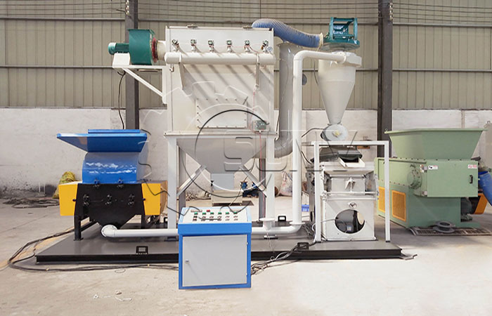 Why choose SUNY Copper Cable Granulator