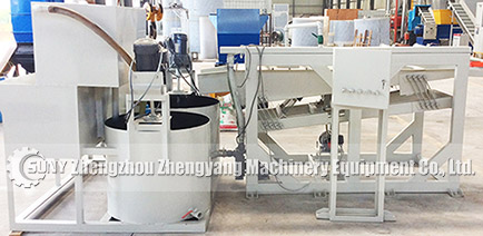 Wet type cable recycling machines