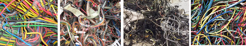 What are raw materials of the scrap copper cable recycling machine