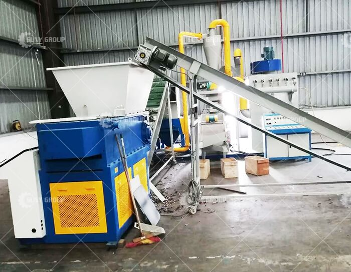 Scrap Cable Wire Recycling Crushing Separ