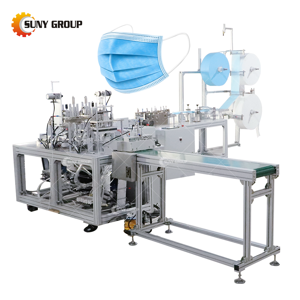 Brief introduction of disposable mask machine