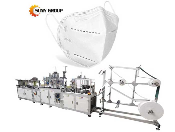Factory High Speed N95 Automatic Face Mask Making Machine