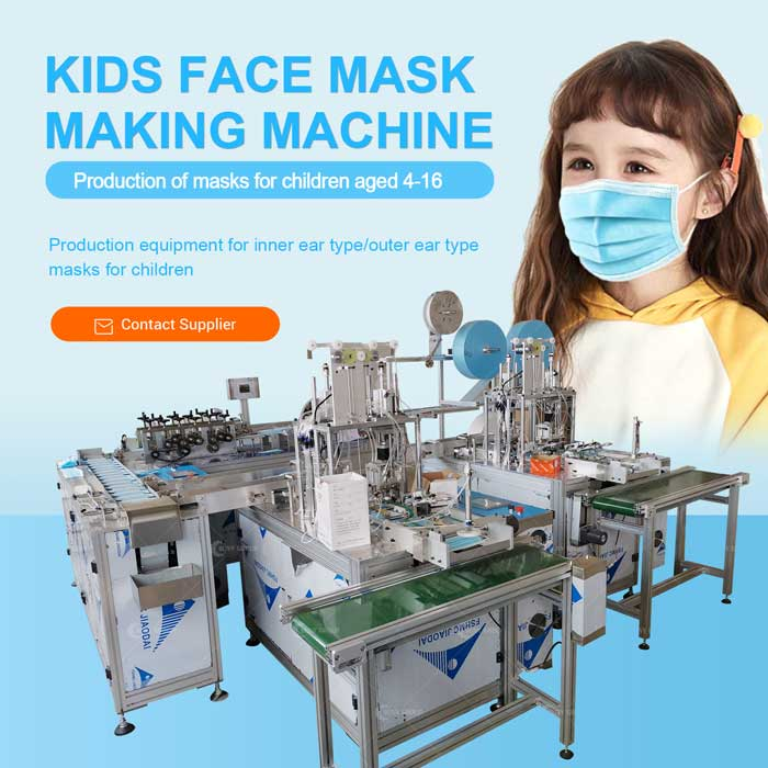 Disposable Face Mask Machine For Kids